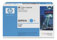 Hewlett Packard No643A LaserJet Toner Cartridge Cyan Q5951A
