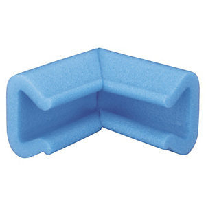 "35-45mm Wide ""U"" Foam Corner Protectors (Pack of 300)"