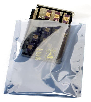 "6""x 8"" Metallised Static Shielding Open Ended Bags (500 per box)"