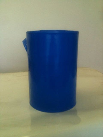 "18"" (457mm) 500G Blue Polythene Layflat Tubing"