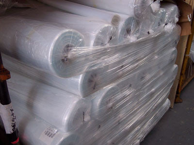 125micron Clear Heavy Duty Polythene Sheeting (25m x 4m)