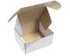 "8"" x 6"" x 2.5""  (200 x 150 x 65 mm) 50 White Postal Boxes"