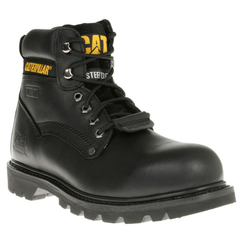 Steel Toe Cap Safety Boots & Hi Visibility Vest