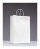 Small White Twisted-Handle Paper Carrier Bags (Pack of 250)