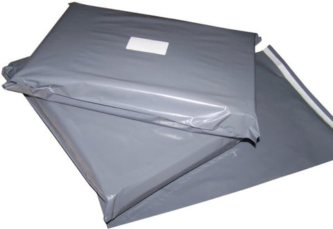 "400x525mm (15.7"" x 20.7"") Grey Mailing Bags (250 Pack)"