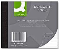 102 x 127mm  Duplicate Book