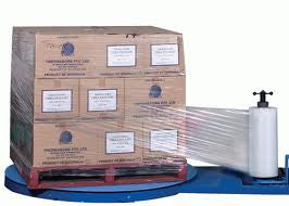 500mm x1400m x 23micron Machine Pallet Stretch Wrap