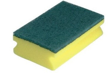 Large sponge Scourer with GRIP (Pack of 10)