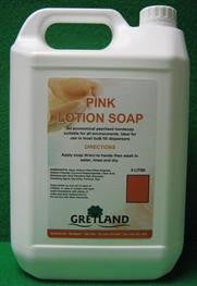 Pink Lotion Soap 5L