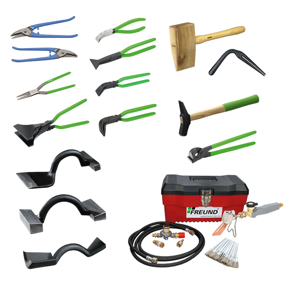 Freund. Coppersmithu0027s Roofing Tools Set