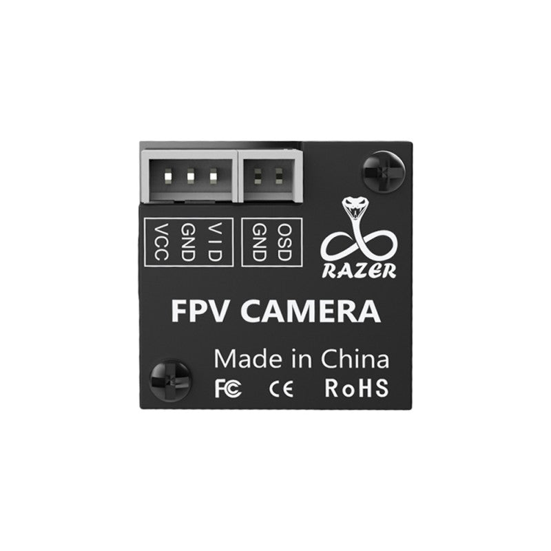 1200TVL Foxeer Micro Razer FPV Camera PAL NTSC Switchable 1.8mm lens 4ms Latency