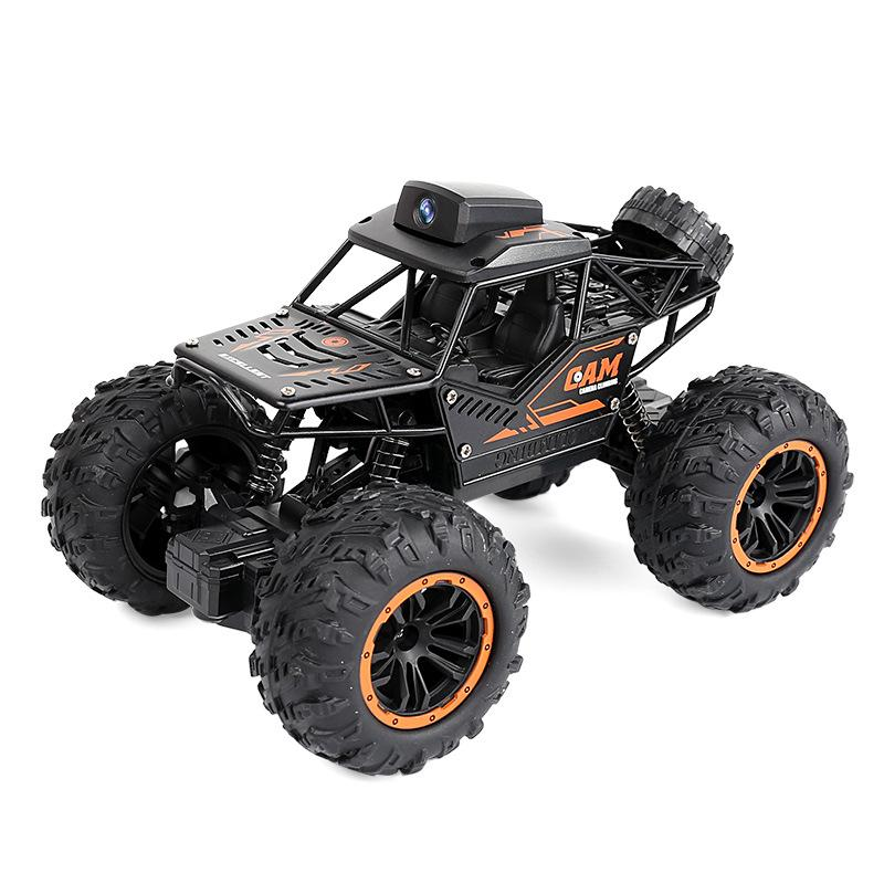 Mini remote control WIFI high speed remote control car off-road HD camera rc climbing car big feet children toys