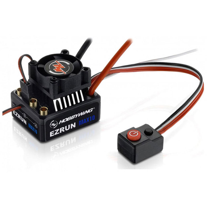 Hobbywing Ezrun Max10 60/450A Sensorless/Sensored Rc Car/Buggy Brushless Speed Controller