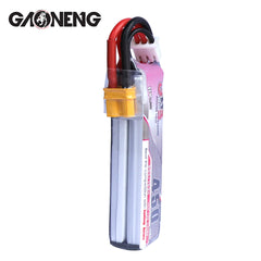 GAONENG 450mAh 2S HV LiPo Battery 7.6V 80/160C XT30 Plug for Micro FPV Drone - option 2pcs / 3pcs