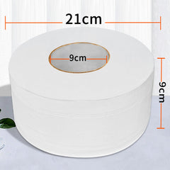 1 Jumbo Massive Toilet Paper Roll with 4-layers of Strength and Absorption