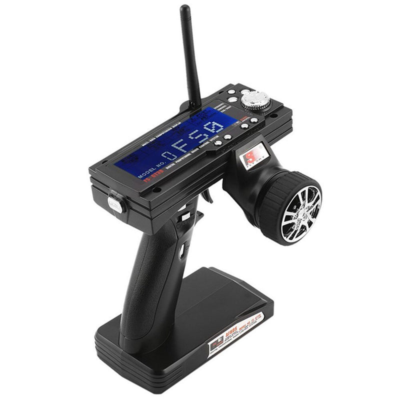 Flysky GT3B 3 Channel 2.4G Transmitter & Receiver GR3E Receiver for RC Car, Rc Boat and Rc Truck