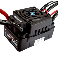 Hobbywing EZRUN WP SC8 120A 120A-RTR Waterproof Brushless ESC Speed Controller 2-4S Lipo Fit 3660 3674 Motor For 1/10 1/8 RC Car
