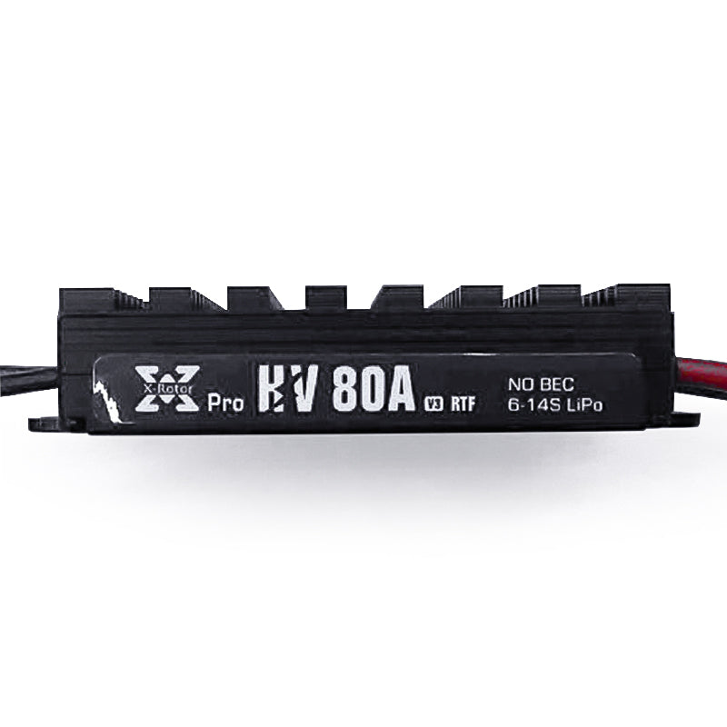 Hobbywing XRotor Pro Series 80A HV V3 Electronic Speed Controller for RC Car
