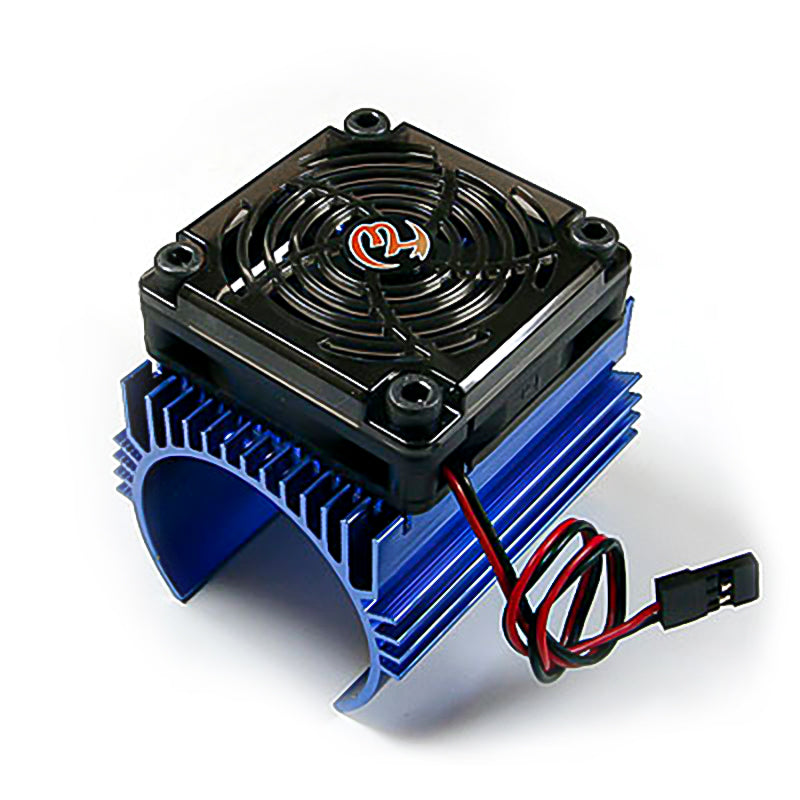 Hobbywing Ezrun 5V C4 Cooling Fan & 44 X 65mm Motor Heat Sink System For 1/8 Car