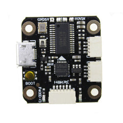 HAKRC Mini F4 Flytower F4 Flight Controller for RC drones AIO OSD Bec and 20A Blheli_S ESC 20x20mm