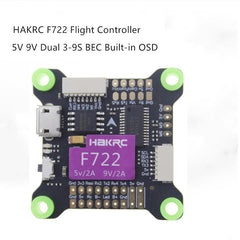 HAKRC F722 flight controller 5V 9V dual BEC OSD 3-9S For RC FPV racing drone
