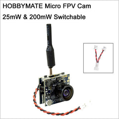 Micro 5.8 G 48 Channel AIO VTX FPV camera