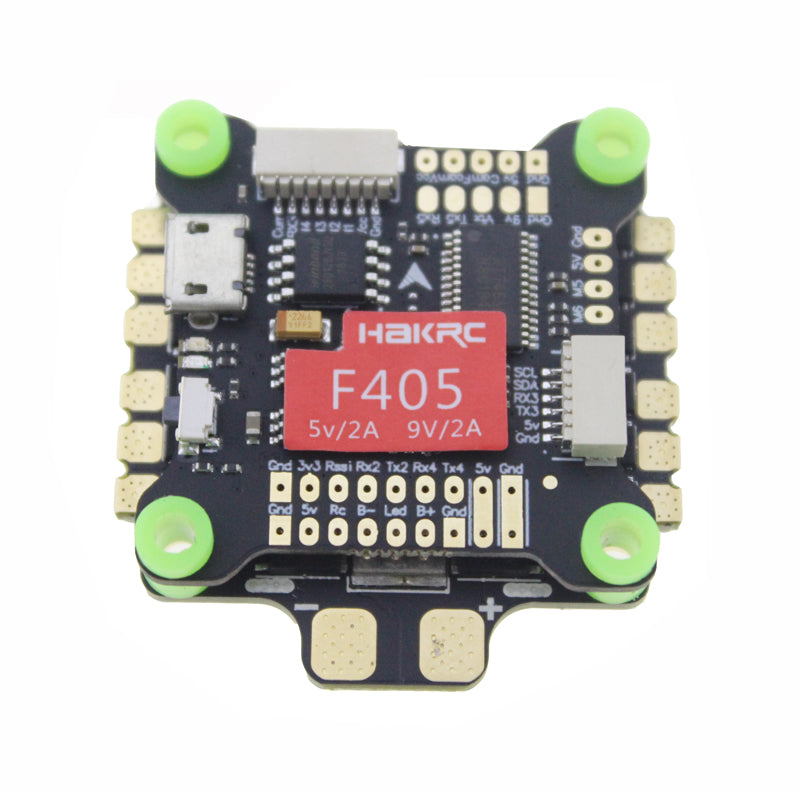 New Arrival HAKRC Flytower F405 30.5x30.5mm & 50A 4IN1 3-6S ESC For RC drone