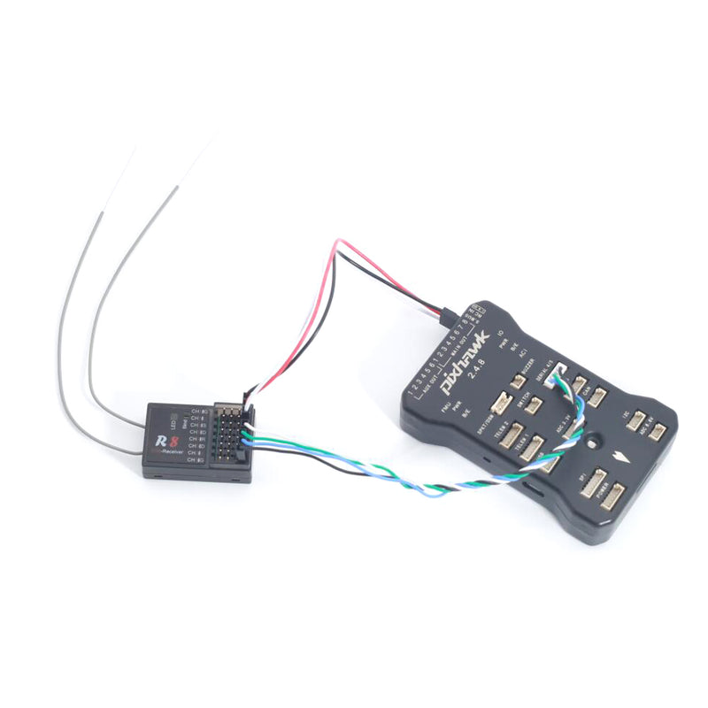 Jumper R8 Receiver T16 FrSky D16 D8 Mode Support PIX PX4 APM Flight Controller PWM SBUS Output