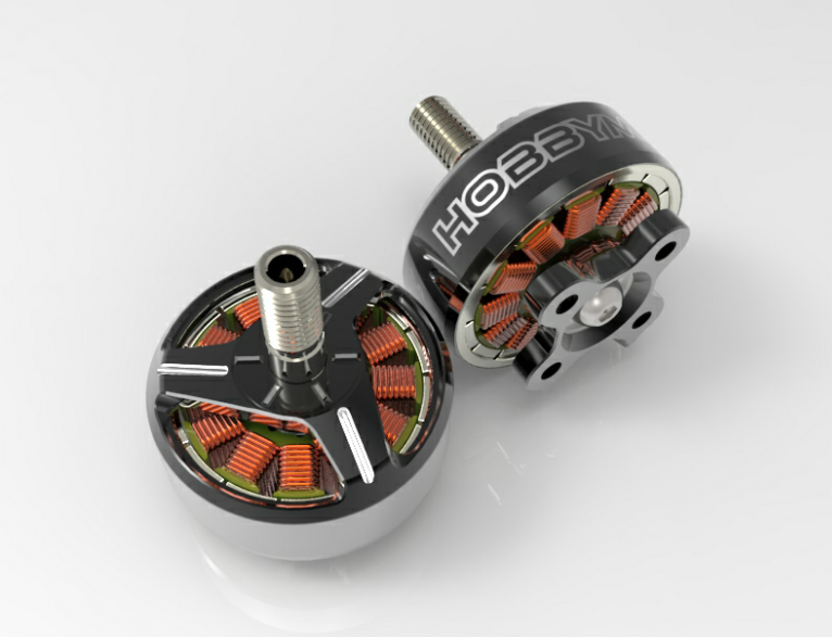 Hobbymate 2207+ FPV Drone Motor 2250Kv for both 4S 6S power