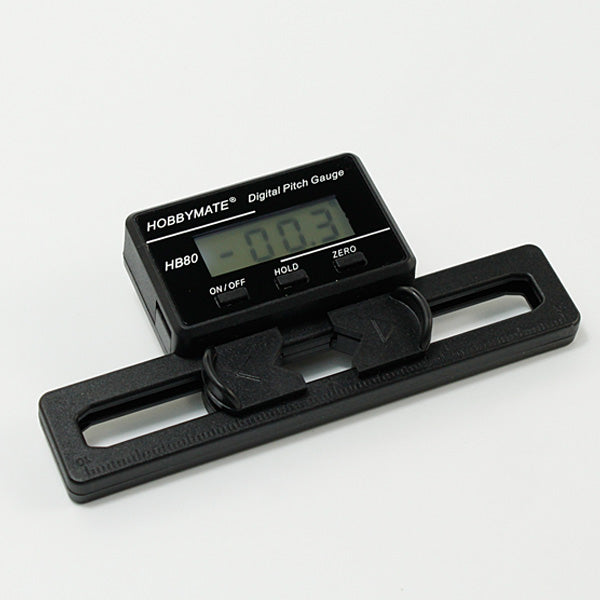 Hobbymate Digital Pitch Gauge for FBL rc helicopter