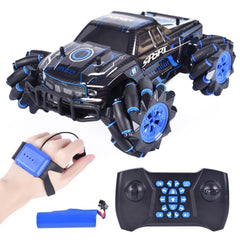 RC Car new sound and light drift car remote control climbing car light music off-road vehicle watch induction children's toy car