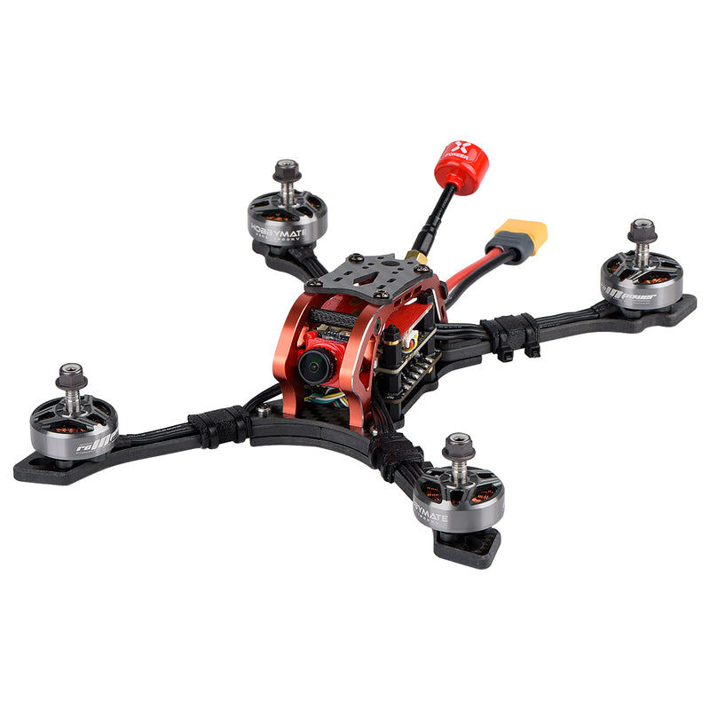 "HOBBYMATE Meteor 5"" FPV Racing Drone Stretch X Frame Kits / PNP"