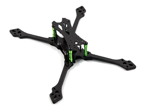"Comet 5"" fpv racing frame with 5mm thick carbon fiber arms"