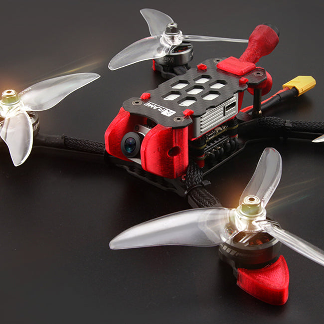 XDRC FPV Racing Drone 220mm Compatible with DJI Air Unit FPV System, Ready to Fly