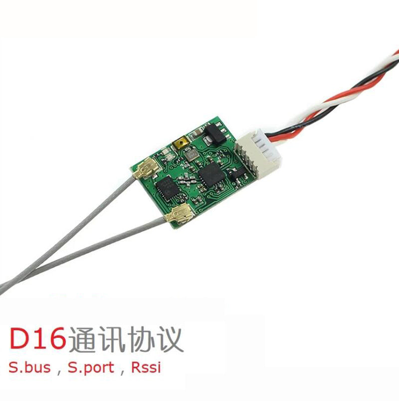 Full Range S.Bus Receiver 16 Ch Support Lua Script, w/S.Port Telemetry