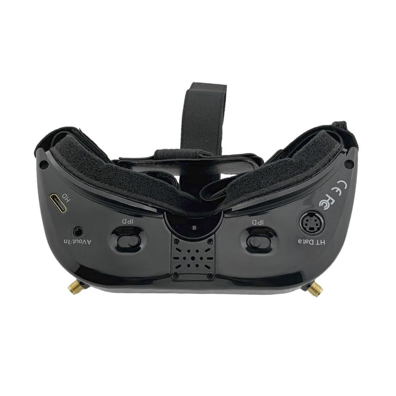 Aomway v1s fpv goggles 5.8Ghz 64 channel diversity hdmi built-in heat fan