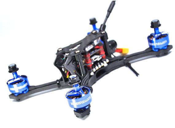 "ASTEROID 3"" Mini FPV Drone Kit / PNP / BNF Support 4S and 6S Power"