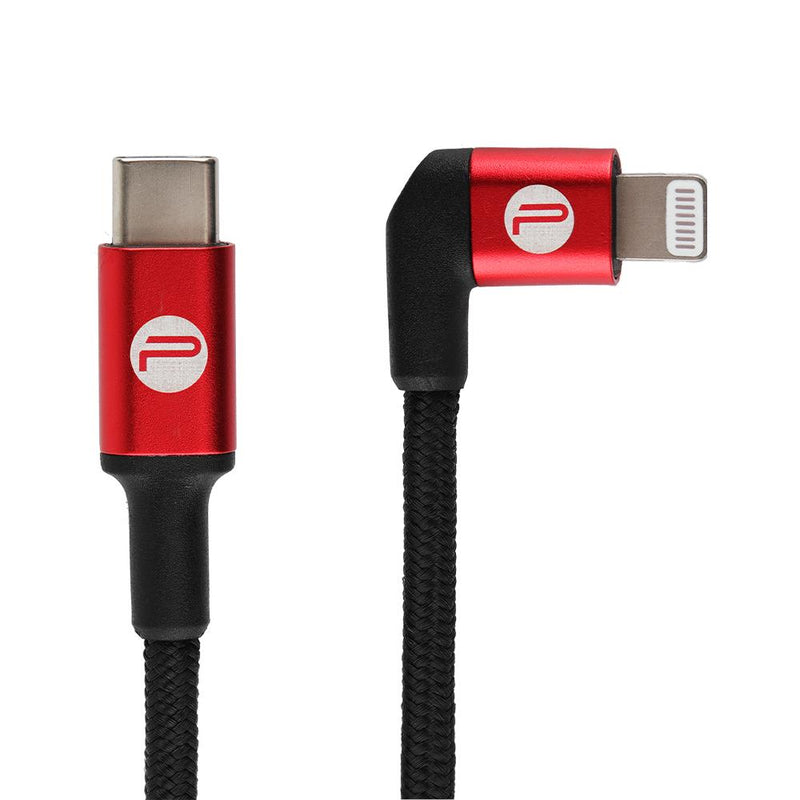 USB Type-C to Right-Angle Lightning Cable 65 cm - Pgytech