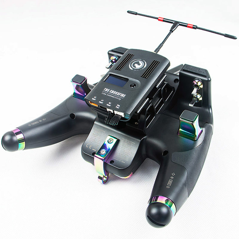 Flysky Nirvana NV14 Radio Transmitter Hall Gimbals W/ IA8X and IA8S Receiver, Internal RF Touch Screen OpenTx Ready