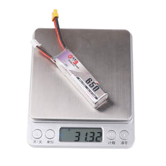GAONENG 2S LiPo 650mAh XT30 HV 7.6v 60C for Toothpick FPV - 2pcs / 3pcs option