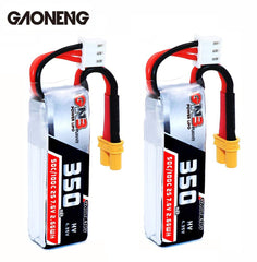 Gaoneng GNB 350mAh 2S HV 50C/100C Lipo Battery XT30 Plug for Beta75X RC Drone FPV Racing - 2pcs / 3pcs option