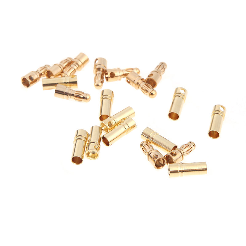 3.5mm Gold Bullet Banana Connector Plug For ESC Battery Motor - 1PCS