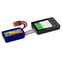 ISDT BG-8S Battery Meter, LCD Display Digital Battery Capacity Checker Battery Balancer Battery Tester for LiPo/Life/Li-ion/NiMH/Nicd