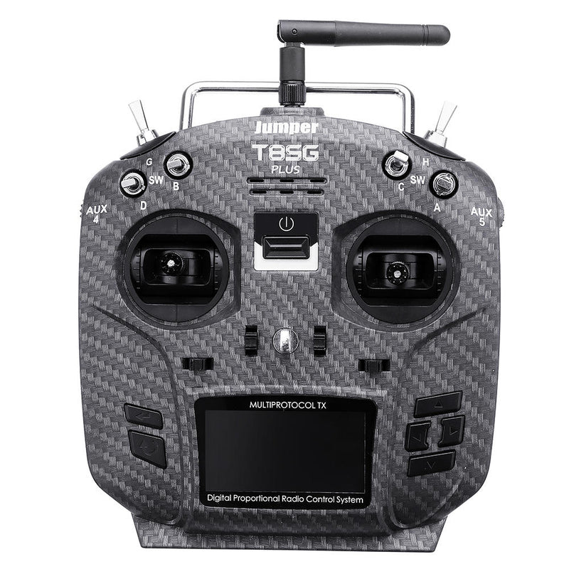 Jumper T8SG V3 Plus Carbon Panel Edition Hall Gimbal Multi-protocol Advanced Transmitter