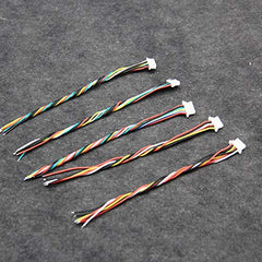 FPV Drone vTx silicon wire cable SH 1.0 Space Pin, for video transmitter, ESC, flight controller - Pack of 5