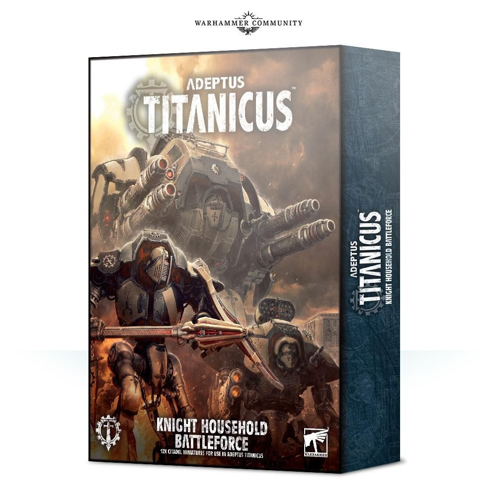 Adepticus Titanicus Knight Battleforce