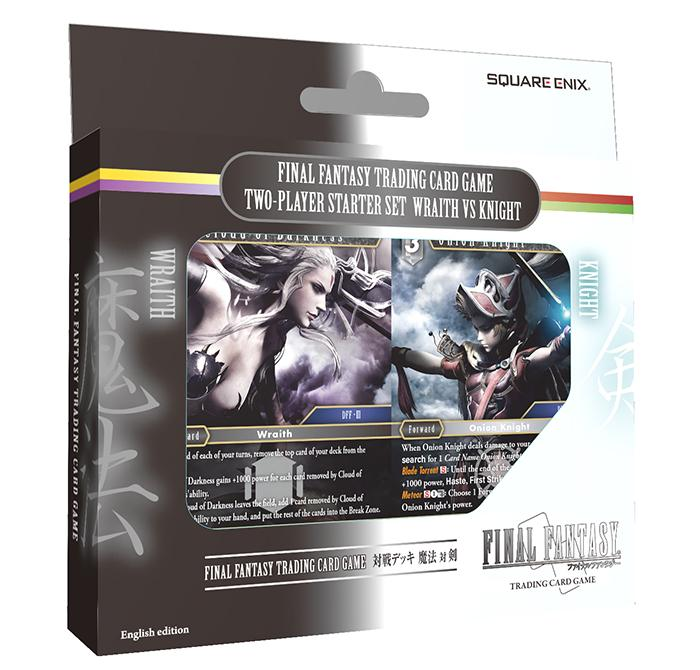 "FINAL FANTASY TRADING CARD GAME ""Wraith vs Knight"" 2-Player Starter Set"