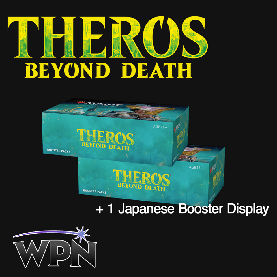 THB 2 Booster Boxes + 1 Japanese Booster Box (WPN)