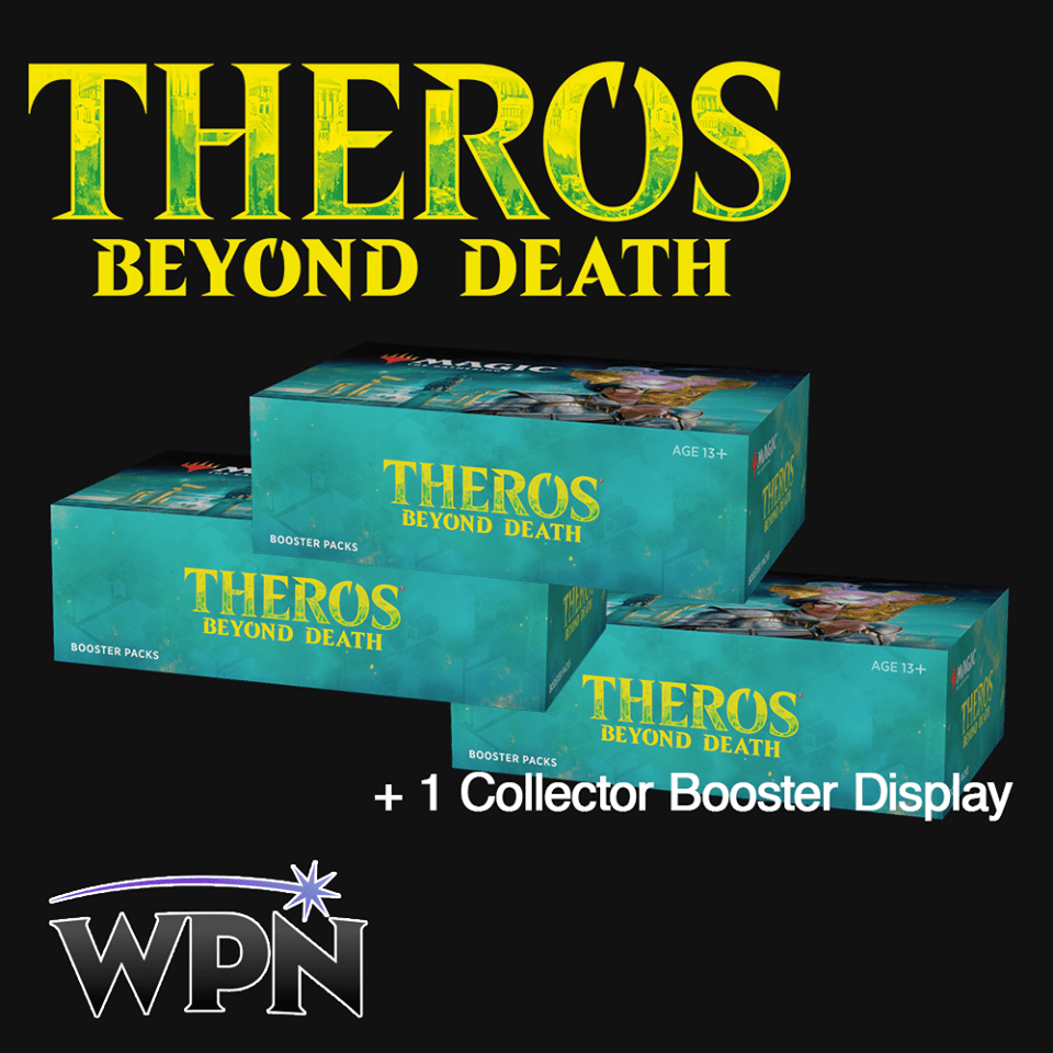 (Preorder) THB 3 Boosters Boxes + 1 Collectors Box (WPN)