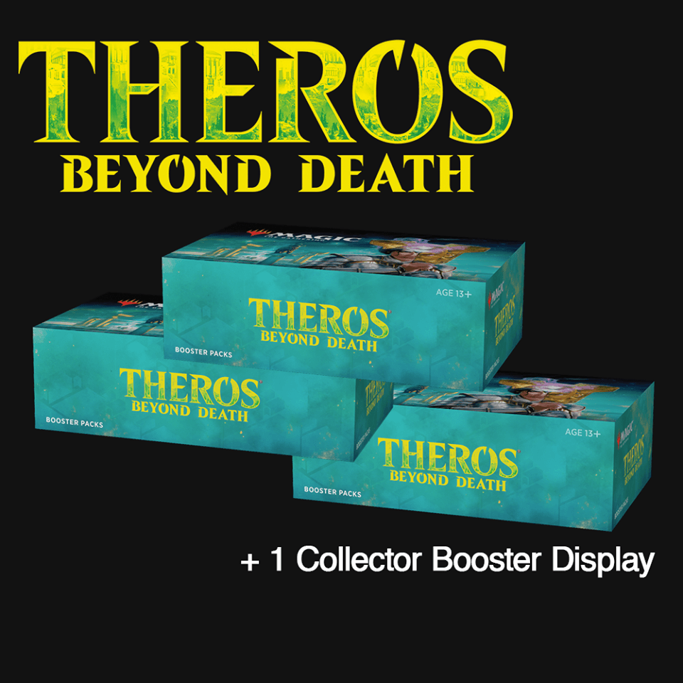 THB 3 Booster Boxes + 1 Collector's Box (Non-WPN)